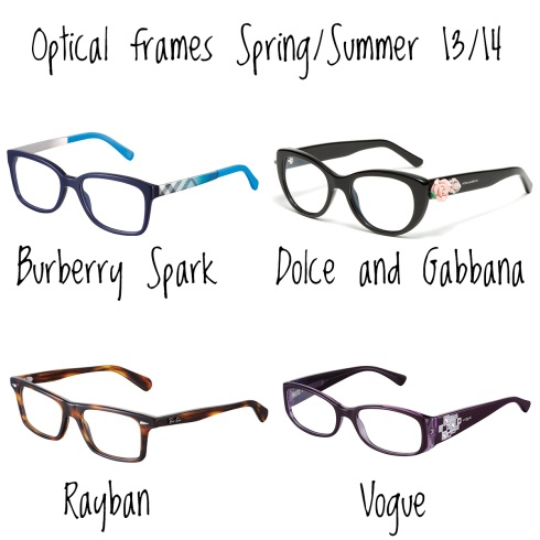 Optical frames Spring/Summer 13/14