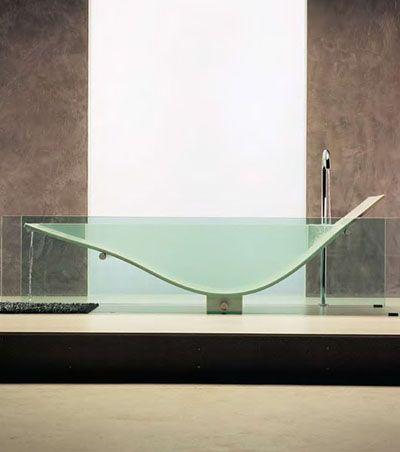 Fascinating See – Through Bathtub from Omvivo