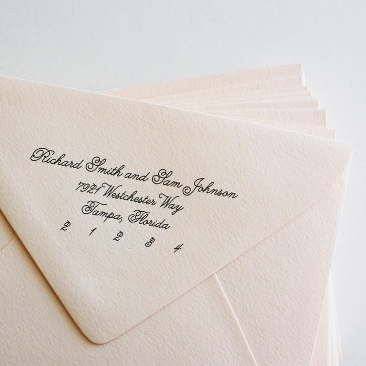 "Calligraphy envelope addressing Chicks n Hens (@chicks_n_hens) on Instagram: ""Black cursive on a blush euro flap envelope 😍 - full address printing available with the premium…"""