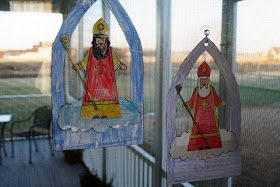 Charming the Birds from the Trees: Learning Basket: Saint Nicholas...