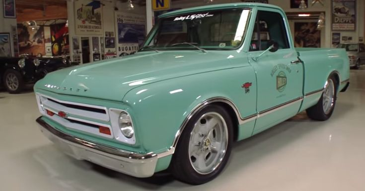 1967 Chevy C10 Pick Up Truck by Hooley Speed Shop. Double click for the video