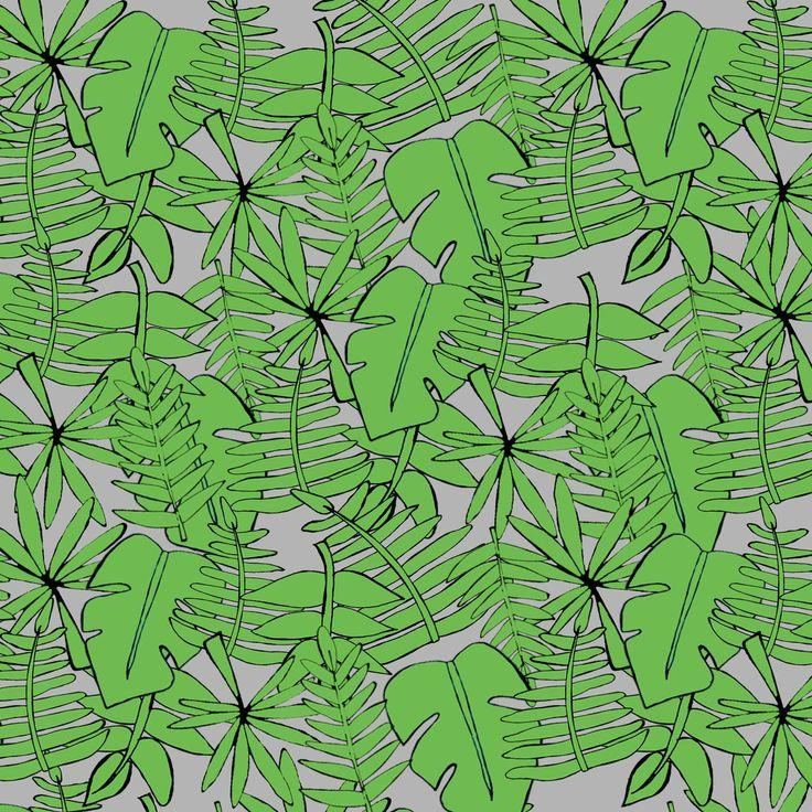 Diseño textil Selva