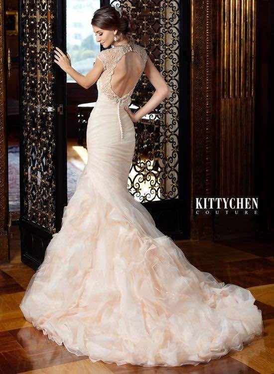Kitty Chen Wedding Dresses Couture 2015 - MODwedding