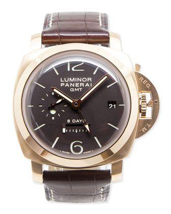 Classic Panerai Luminor GMT PAM 289 Watch, Men's, sapphire - NM Watch Collection…