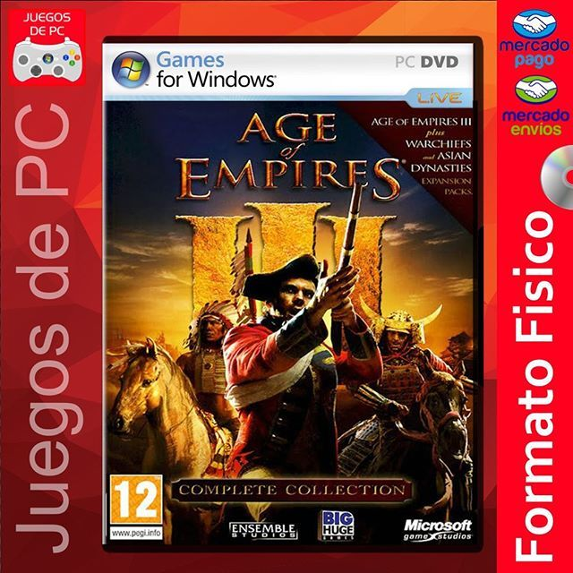 Age Of Empires Iii Complete Collection Espanol Formato Fisico