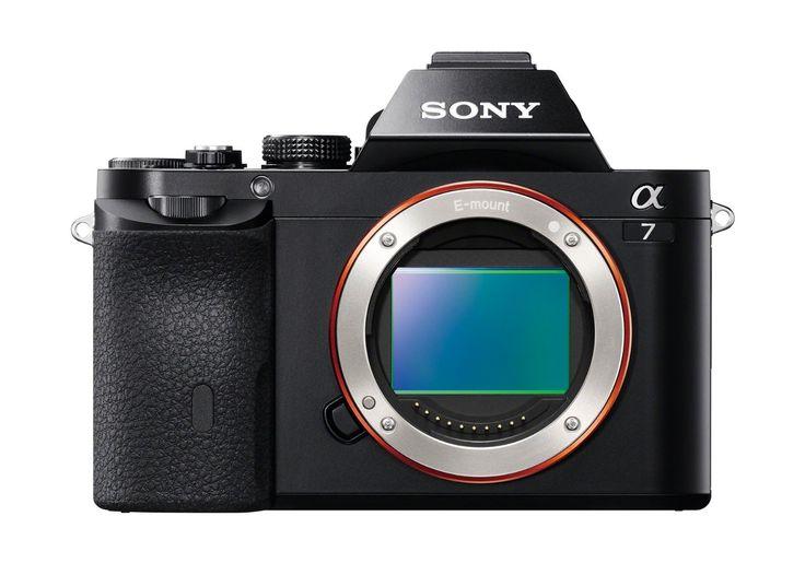 Sony ILCE7/B 24.3 MP a7 Full-Frame Interchangeable Digital Lens Camera