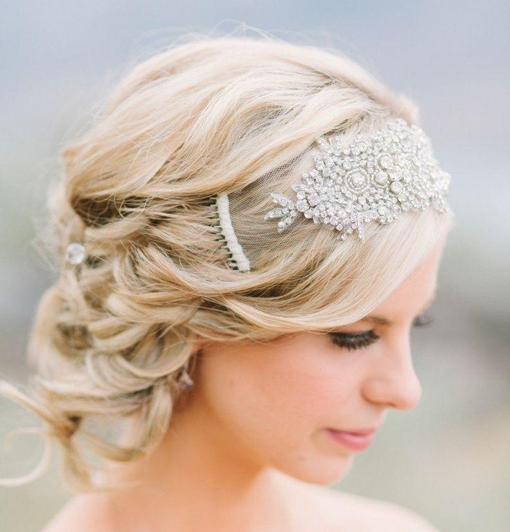 coiffure mariage : bandeau vintage