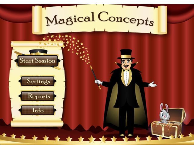 Magical Concepts includes over 60 concepts that are alphabetically organized. Examples of the concepts include: Above/Below Angry/Sad/Happy/Surprised Around Apart/Together Behind/In front Big/Small Bottom/Top Clean/Dirty Closed/Open Cold/Hot Crooked/Straight Curly/Straight Day/Night Deep/Shallow Different/Same Down/Up Dry/Wet Empty/Full Far/Near Half/Whole In/Out Inside/Outside Light/Heavy Long/Short Loud/Quiet Missing Narrow/Wide Next to Old/New On/Under Over Pair Short/Tall Thick/Thin…