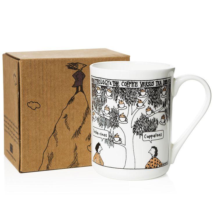 Alperstein - Judy Horacek Tea vs. Coffee Mug | Peter's of Kensington