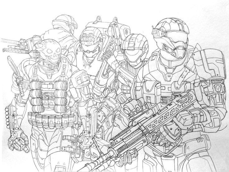 Halo Reach Noble Team By Leonalmasy