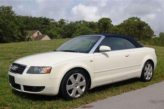 13 992 cars for sale 2004 audi a4 3 0 cabriolet in miami fl 33155 convertible details. Black Bedroom Furniture Sets. Home Design Ideas