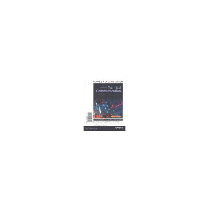 Technical Communication (Paperback) (John M. Lannon & Laura J. Gurak)