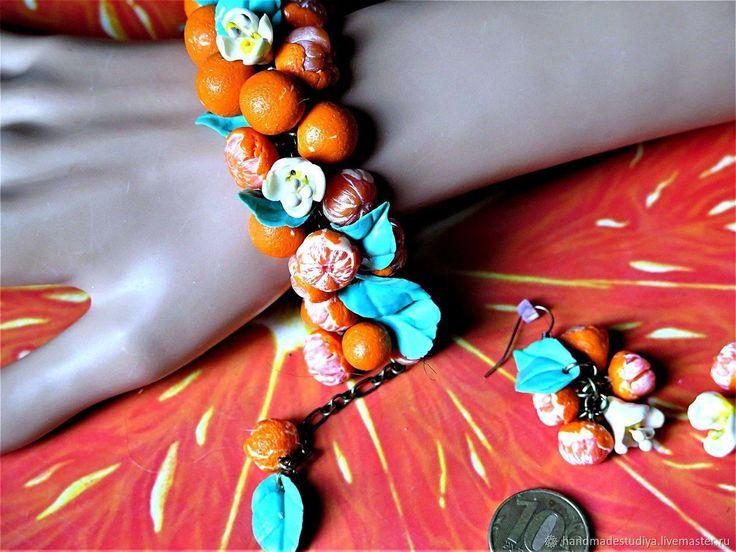 Купить Комплект Мандариновый в интернет магазине на Ярмарке Мастеров