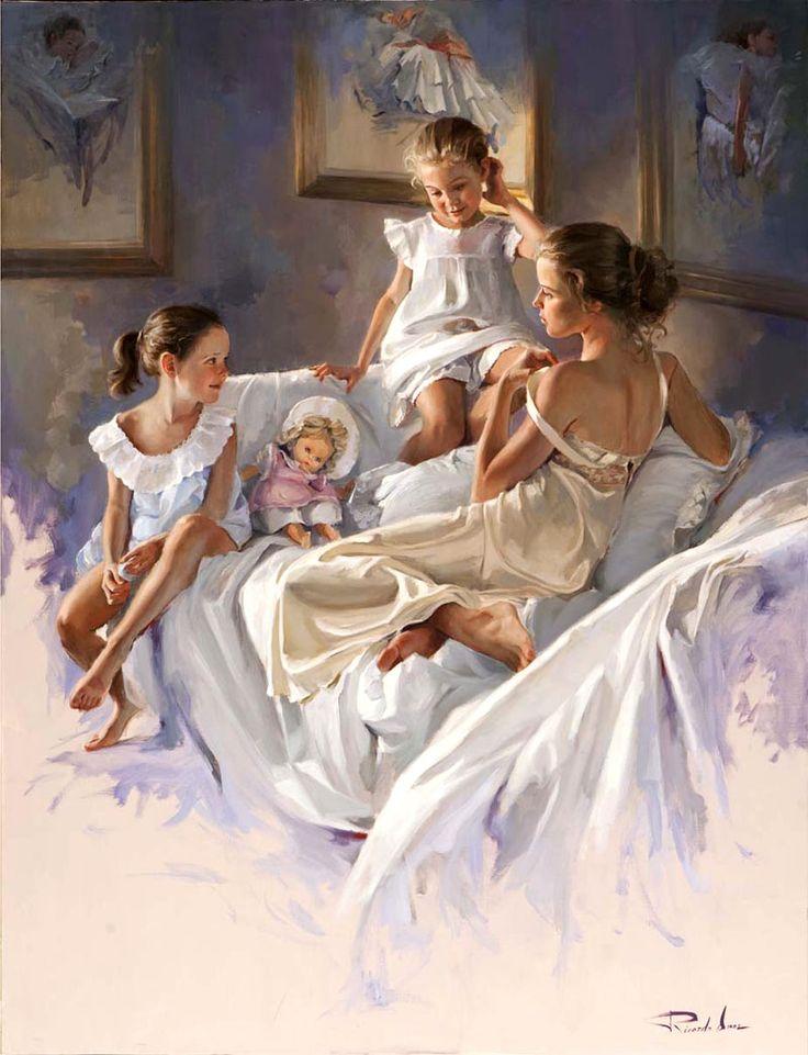 oil painting by ricardo sanz