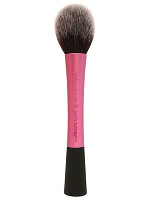 Ignore the name of this Real Techniques Best of Beauty winner for best bronzer brush: It picks up the right amount of bronzer so there's no way to muddy things up....