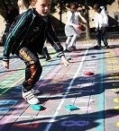 Inspiration til bevægelse i undervisningen - Leg på Streg