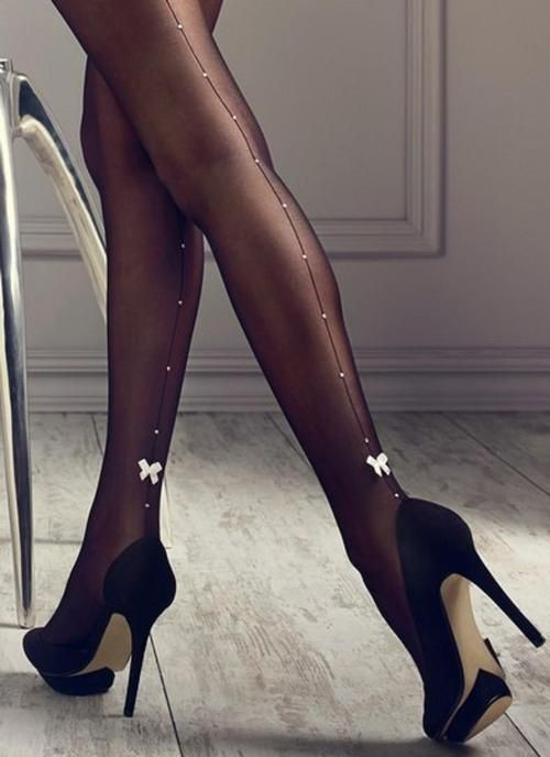 30 best Black Tights and Nude Heels images on Pinterest