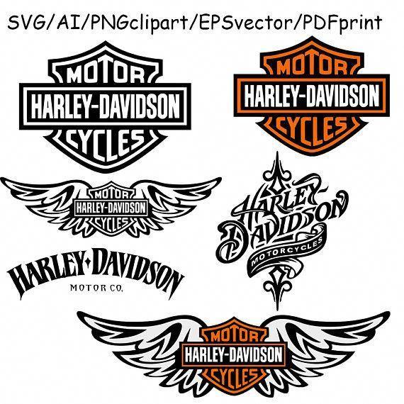 22++ Harley davidson clipart free ideas