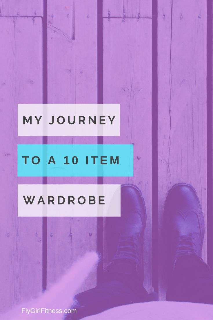 Guest Post – My Journey to a 10-Item Wardrobe Part 1