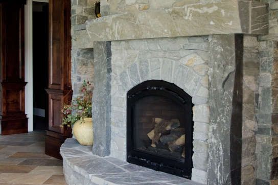 Michael Thronson Masonry Thin Stone Veneer Projects And: 49 Best Fireplaces Images On Pinterest