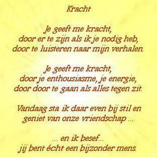 'Vriendschap'