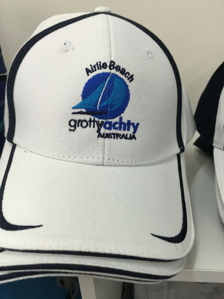 Airlie Beach hats available at Grotty Yachty store Main Street Airlie