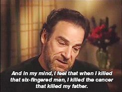 Mandy Patinkin on playing Inigo Montoya in The Princess Bride - Imgur CLICK ON IT!