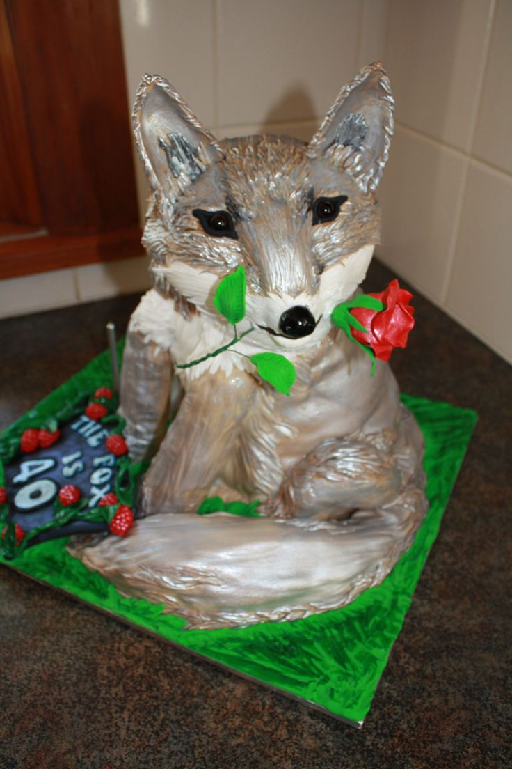 Silver Fox cake