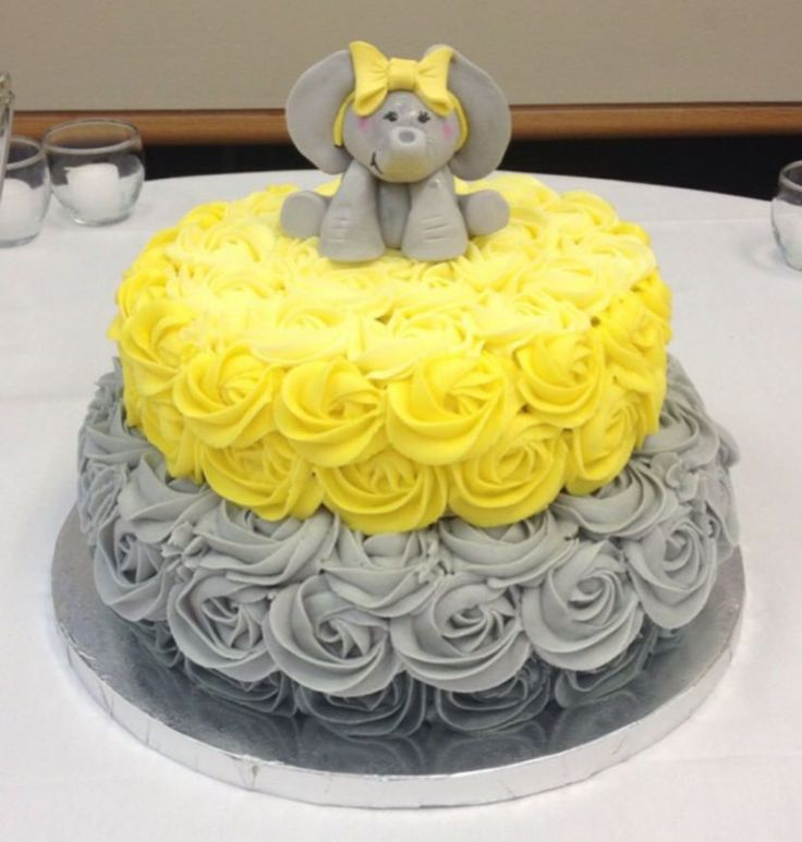 31 Baby Shower Decorating Ideas With Gray & Yellow Theme