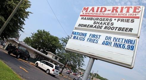 Maid Rite Sandwich Shop, Springfield IL. http://www.laroute66.com/restaurants-route66.html
