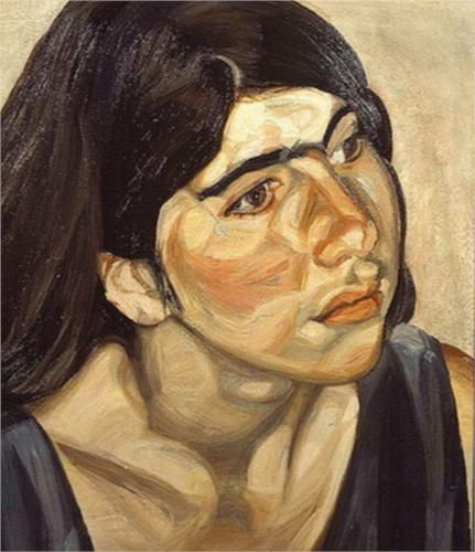 Annie - Lucian Freud The layers of colours implement the skills and techniques of the artists work.