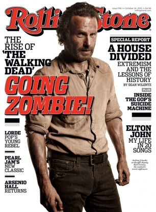 Our October 24, 2013 cover: The Rise of 'The Walking Dead'