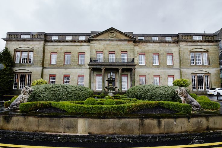 Exterior of Shrigley Hall.