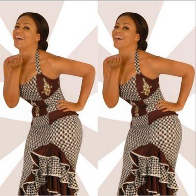 Nadia Buari New Stunning Look ~Latest African fashion, Ankara, kitenge, African women dresses, African prints, African men's fashion, Nigerian style, Ghanaian fashion ~DKK