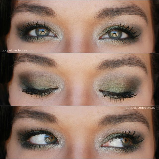 Urban Decay's Ammo Palette EOTD from agapelovedesigns blog