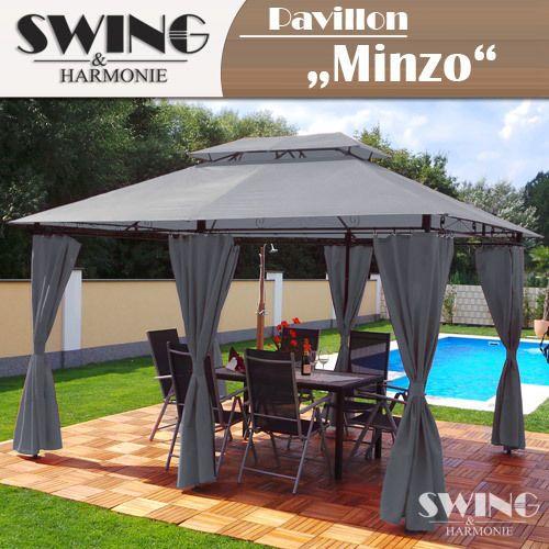 Amazing Details zu Luxus Pavillon xm Garten Pavilon Gartenm bel Pavillion Partyzelt Gartenzelt