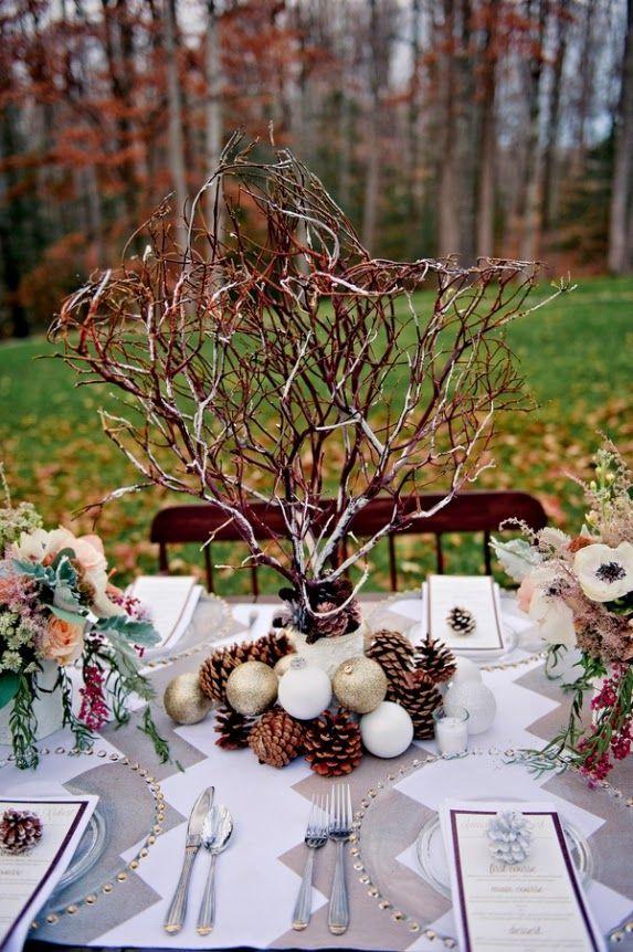 centros de mesa para bodas en los meses ms fros