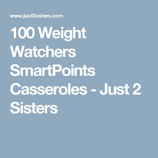 100 Weight Watchers SmartPoints Casseroles - Just 2 Sisters