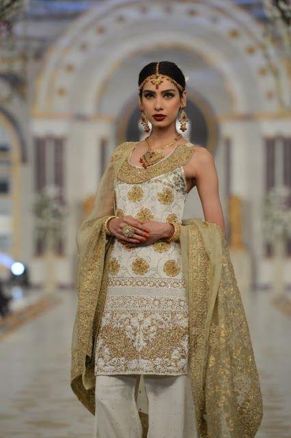 Pakistani Bridal Fashion - Pantene Bridal Couture Week PBCW 2013 - Bina Sultan