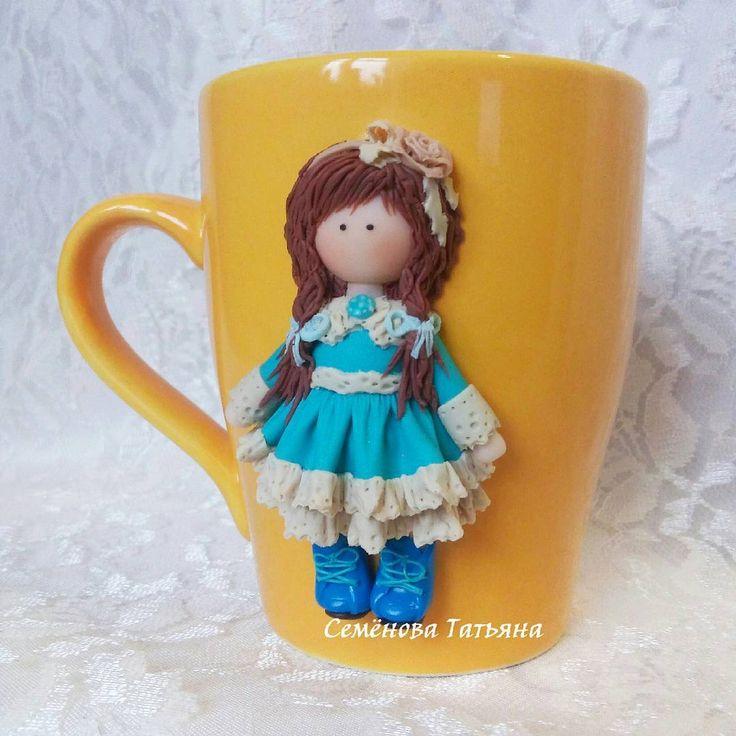 129 отметок «Нравится», 9 комментариев — Свадебные Штучки (@svadebnie_shtuchki) в Instagram: «Как же мне нравится эта кружечка Такая необычная девочка получилась по куколке @ikarolem Эти…»