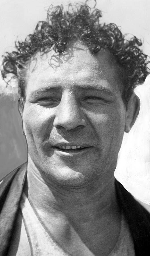 Max Baer (1909 - 1959)  American boxer of the 1930s as well as a referee, and had an occasional role on film or television. He was the brother of heavyweight boxing contender Buddy Baer and father of actor Max Baer, Jr.. Baer is rated #22 on Ring Magazine's list of 100 greatest punchers of all time.