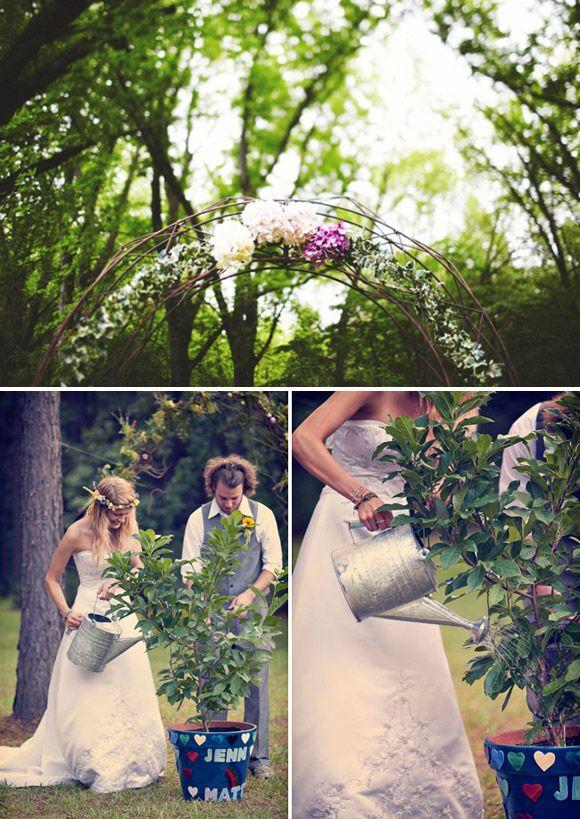 Ideas para sacar partido al jardín en tu boda