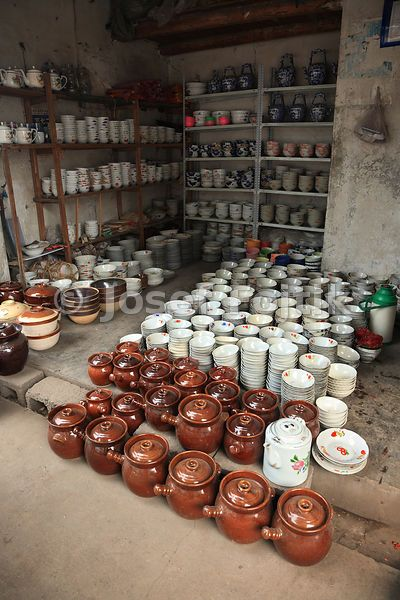 Pottery, Fenghuang Town, Hunan, China