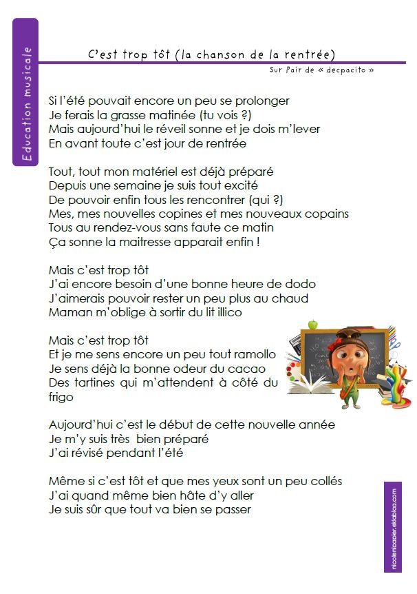La Femme Du Pere Noel Chanson : les 11 meilleures images du tableau comptines sur ~ Pogadajmy.info Styles, Décorations et Voitures