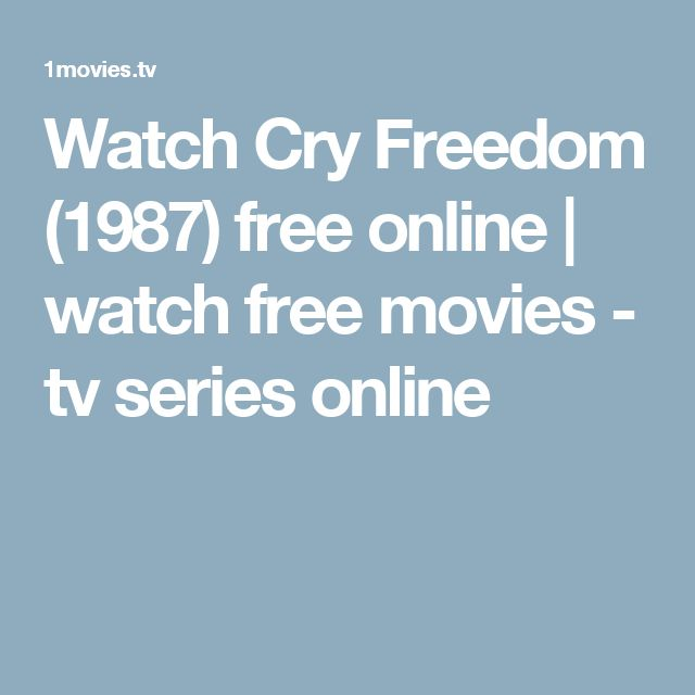 Watch Cry Freedom (1987) free online | watch free movies - tv series online