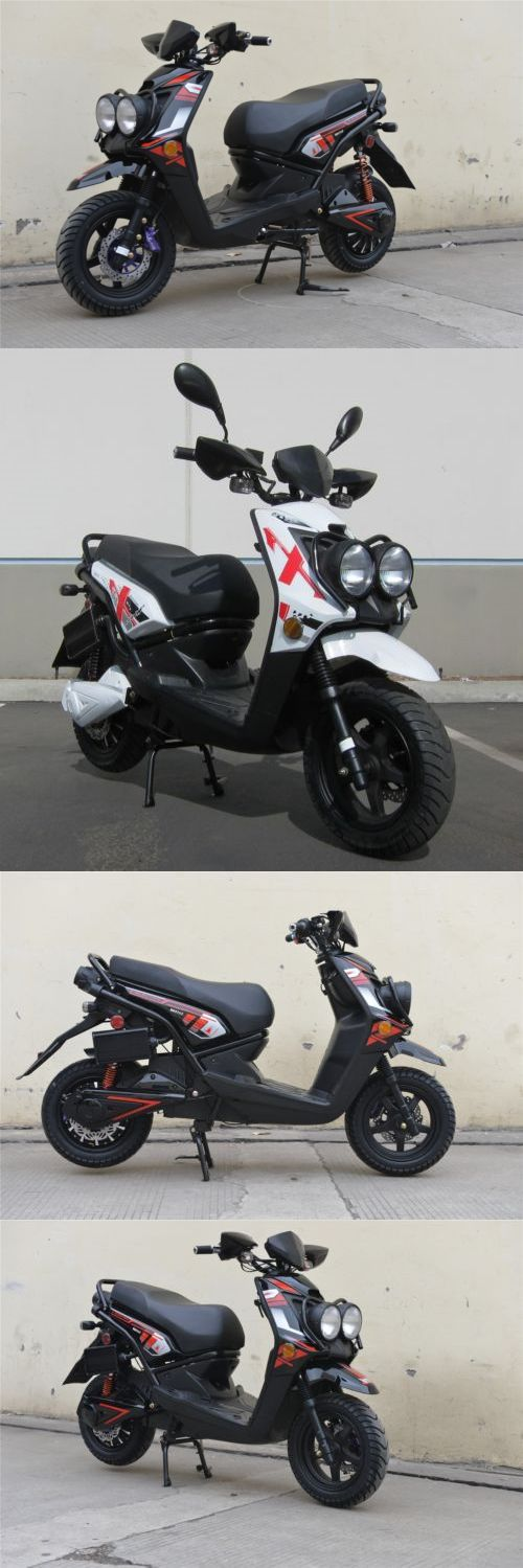 Gas Scooters 75211: Black 2000W 72V Electric Moped Scooter Motorcycle 576Z Brushless Motor -> BUY IT NOW ONLY: $1285.95 on eBay!