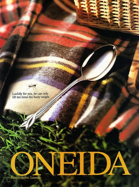 Oneida Leander ad by tartlime, via Flickr