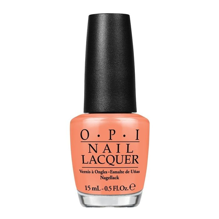 The Ten Best Spring Nail Polishes. # 3 - OPI Hawaii Nail Lacquer Collection in Is Mai Tai Crooked?