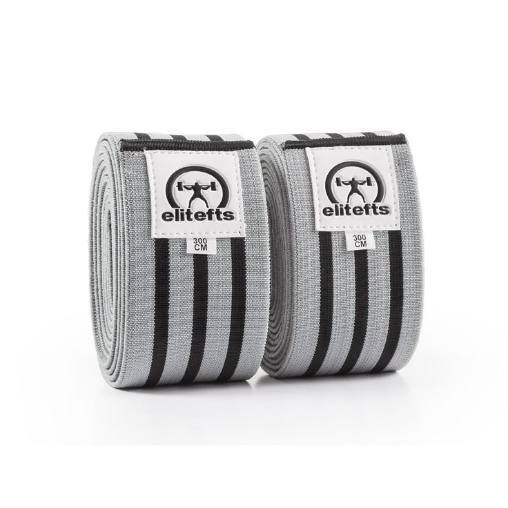 This style of knee wrap is most popular for equipped squatters, wide stance squatters and for lifters that like support and rebound. These wraps go on very tight and are not for those that cringe when the wraps get just a bit too tight. Ideal for world record attempts and big singles.