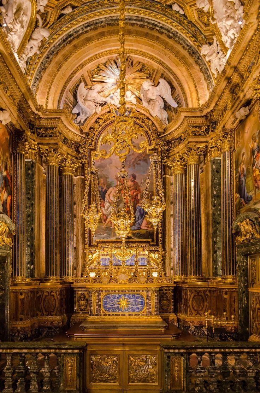 Lisbona capela real de s o jo o baptista igreja de s o roque